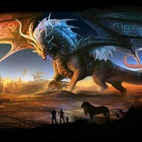 100 Fantastic Fire-Breathing Dragon Illustrations