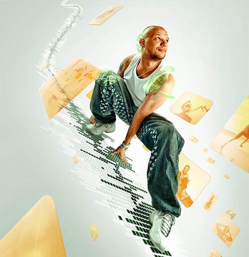 40 Poster Design Tutorials In Photoshop : Pixel Curse