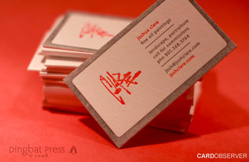 CoolLetterpressBusinessCard32