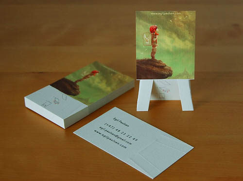 Easel Business Card23