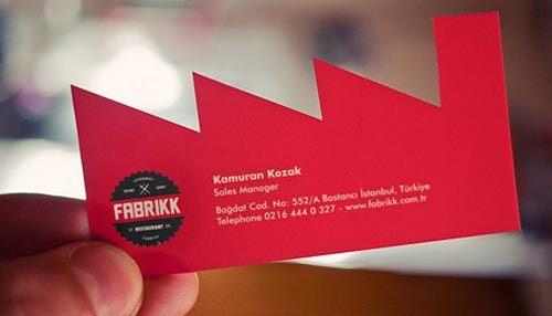 Fabrikk Business Card74
