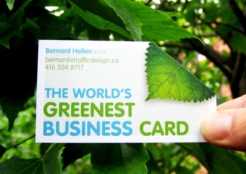 Green Business Card16