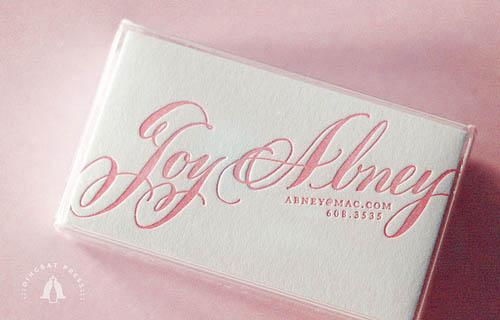 JoyAbneyPinkCalligraphycallingcards28