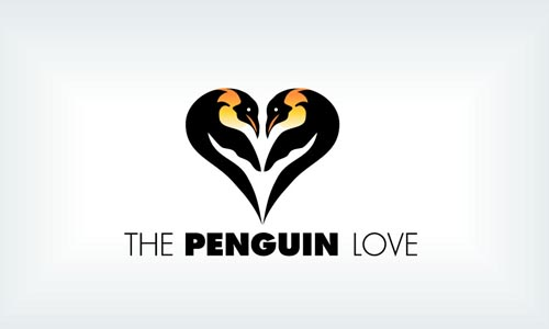 THE PENGUIN LOVE - Logos56