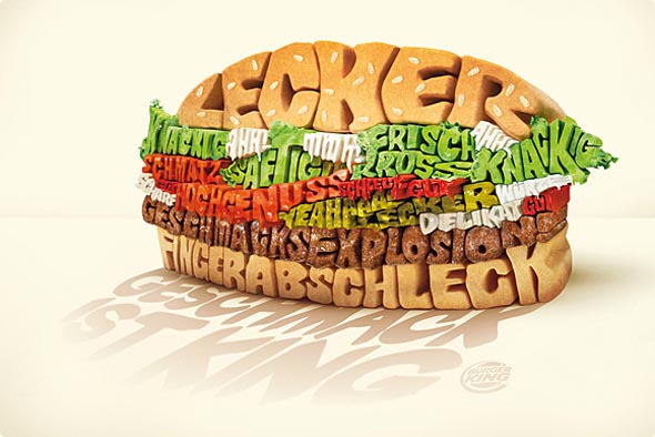 Typography Burger2