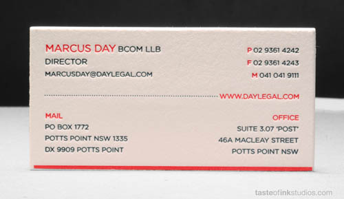 day-legal-letterpress-business-card