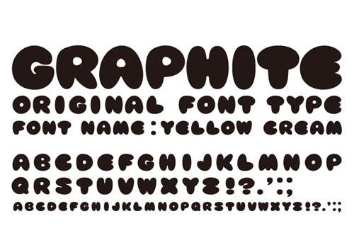 yellowcreamfont29