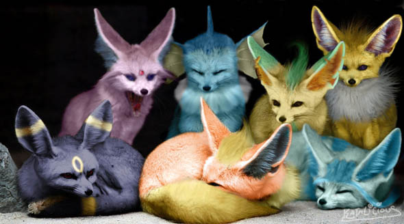 Meet_the_Eeveelutions_by_KataliciousDef_16