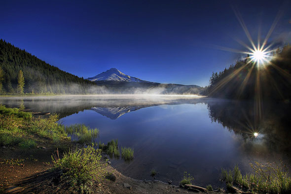 Sunrise at Trillium Lake Oregon 3_36