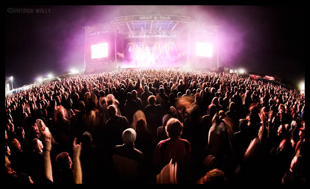 Concert Crowd Photography