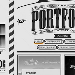 25 Single Page Portfolio Websites