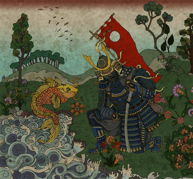 samurai_and_the_fish_by_mahlukat-10