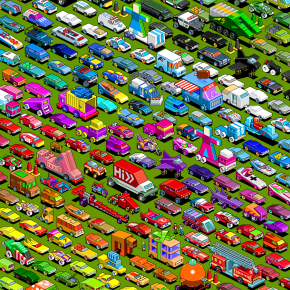 25 Wonderful Examples Of Isometric Pixel Arts