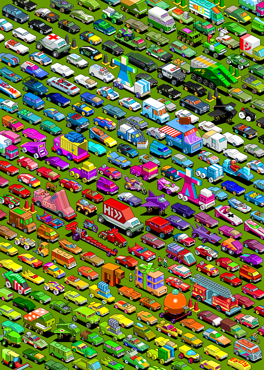 25 Wonderful Examples Of Isometric Pixel Arts Pixel Curse