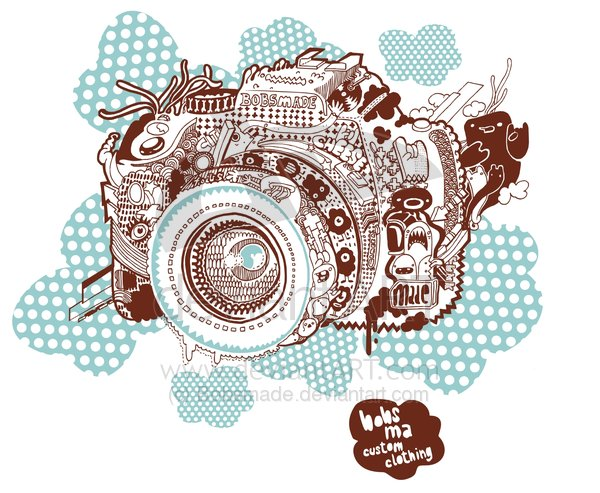 Camera_Tee_design_by_Bobsmade