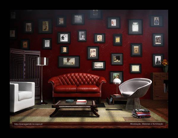 50 Amazing 3D Interior Design Ideas | Pixel Curse