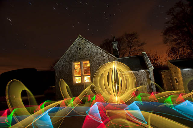 swansong of a 350d - Captivating Light Installation Artists