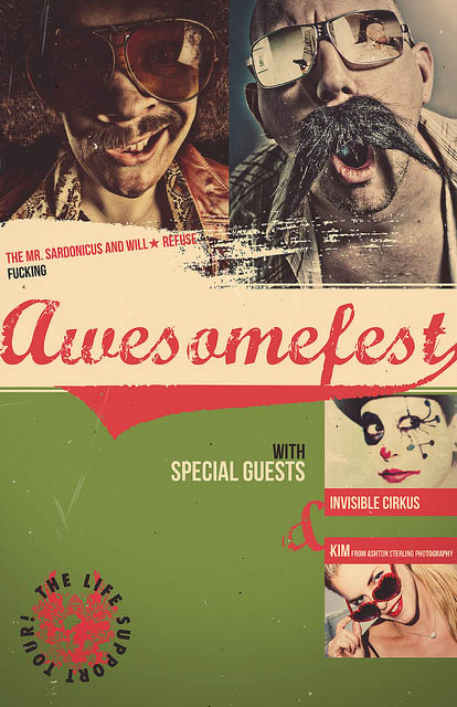 Awesomefest Flyer Vl