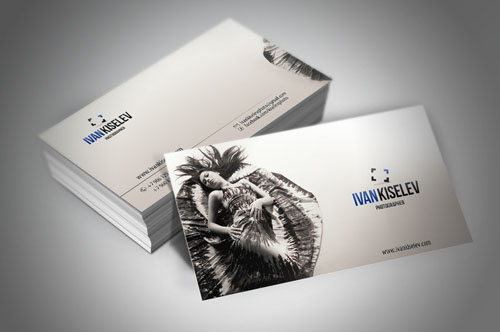 Business card for photographer_45