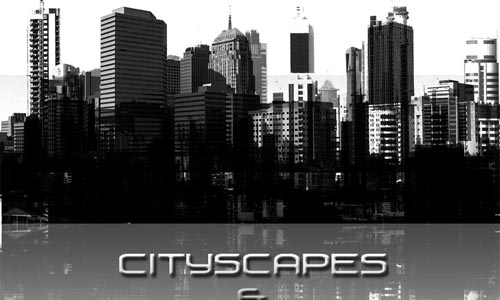 Cityscape_and_skyline_brushes_34