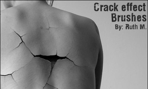 Crack Effect Brush