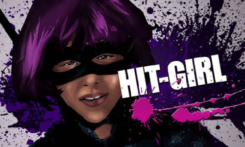 Graphic Wallpaper Hit-Girl_81