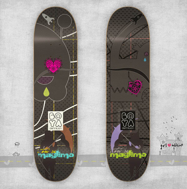 Maglimo Girl edition SKATEboards_17