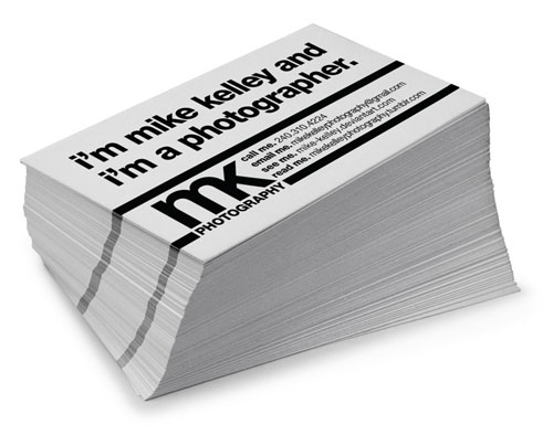 Mike Kelley Photography Business Cards_17