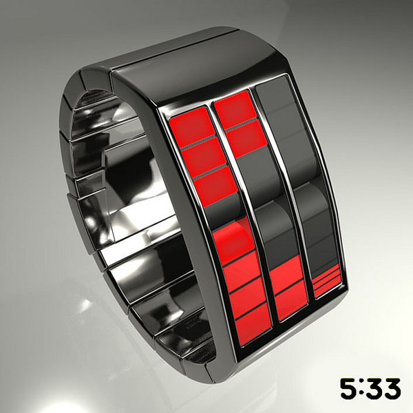 Rolling Out Concept LED Watch Design_25