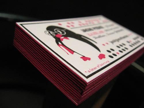 Smart Penguin Letterpress Cards_23