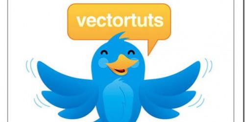 Twitter Style Bird Mascot_81