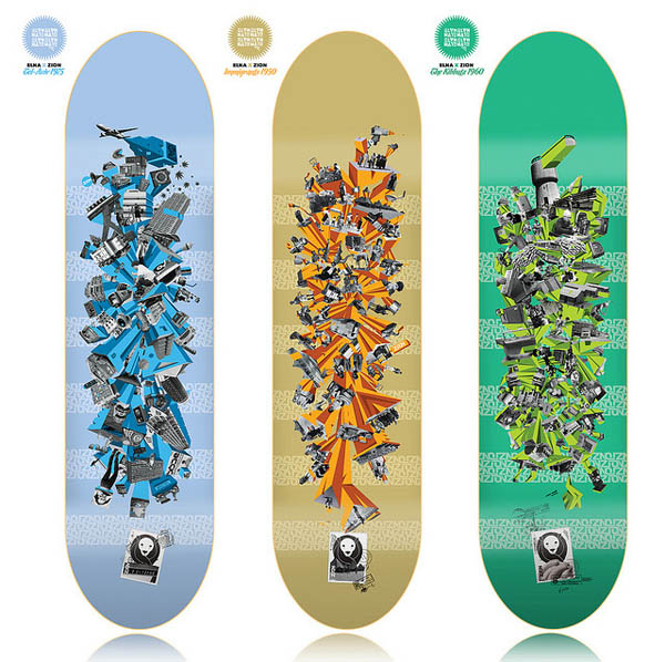 ZION Skateboards 2010 seria design_11