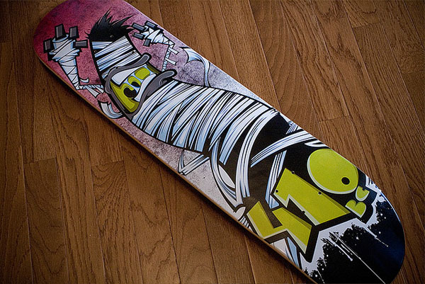 55 Awesome Skateboard Deck Designs | Pixel Curse