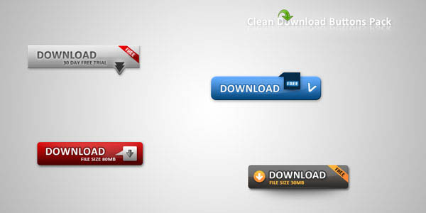 Clean Download Buttons Pack_36