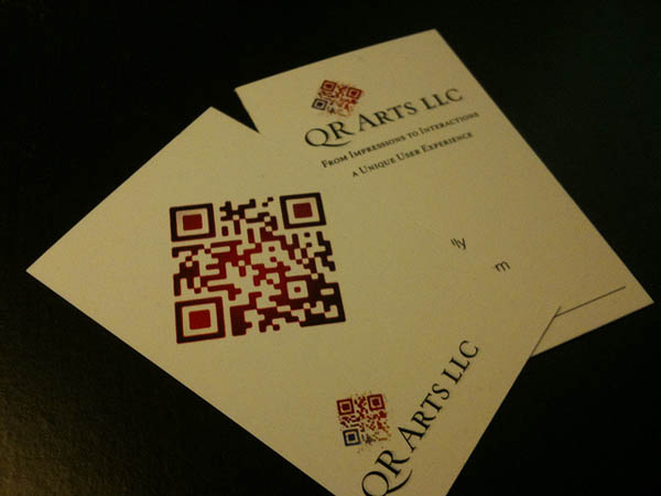 Qr code business card_24