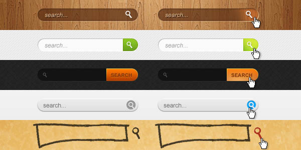 Search Boxes PSD_89