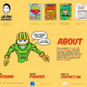 "15 Great ""About Me"" Page Design Examples"