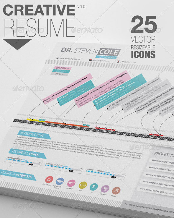 Creative Resume | Cover Letter