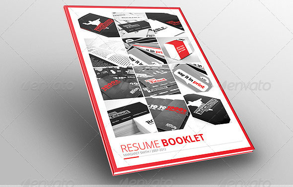 Resume BOOKLET (12 pages)