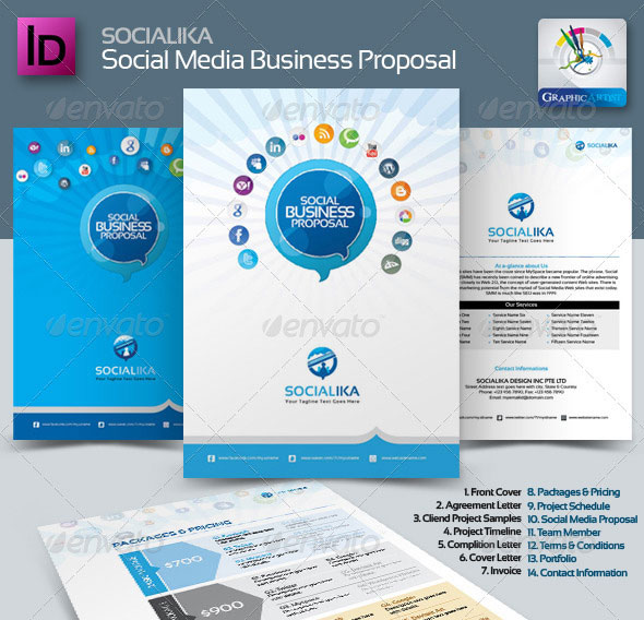 Socialika Social Media Business Proposal