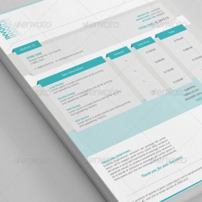 20 Beautifully Designed InDesign Invoice Templates