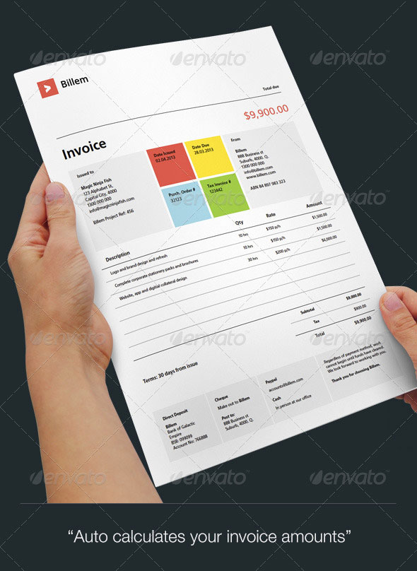 Billem – Invoice Templates