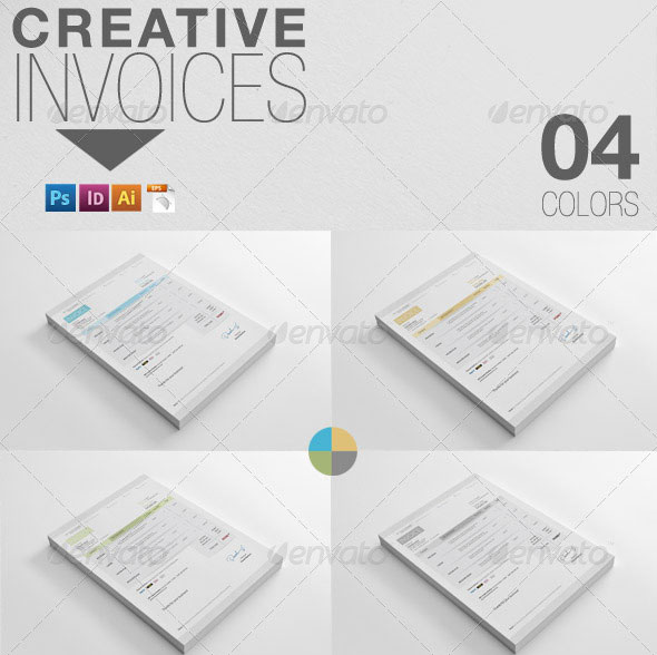 Sample Legal Invoice  Beautifully Designed Indesign Invoice Templates  Pixel Curse Invoice Factoring Companies Uk Excel with Ups Commercial Invoice Fillable Excel Creative Invoices Receipt Formats Pdf
