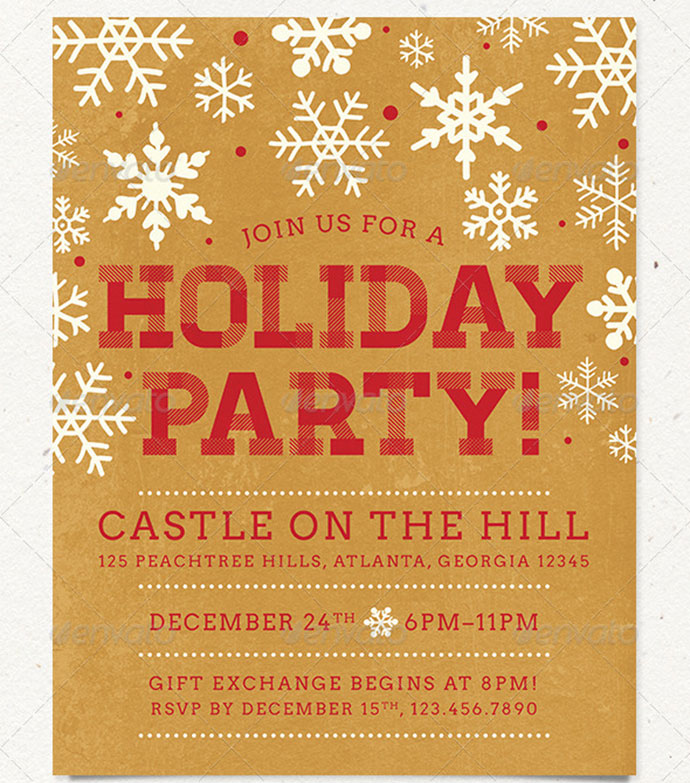 holiday-party-flyer