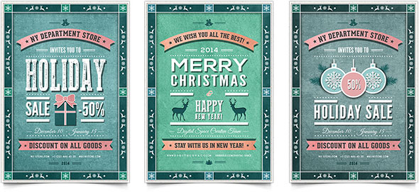 christmas party flyer templates free