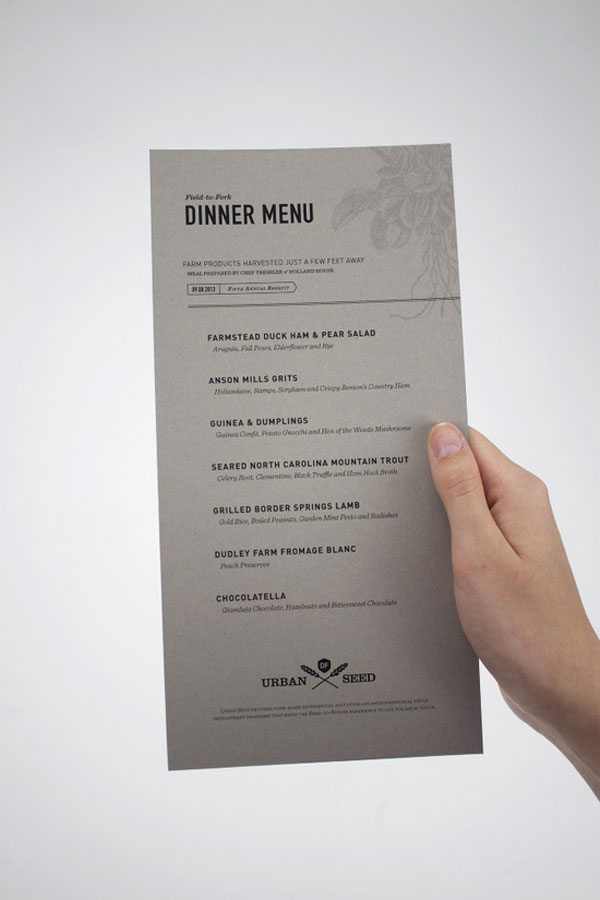 40 Creative And Beautiful Restaurant Menu Designs Pixel