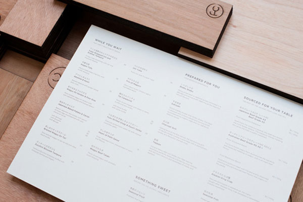 Murphy's Law Menu Restaurant Design