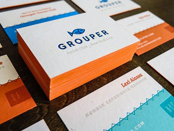Grouper Business Card