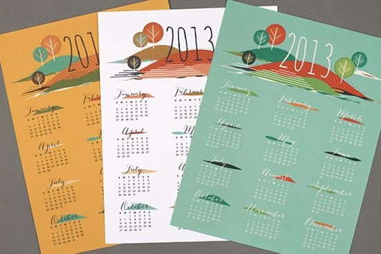 free printable 2013 calendars