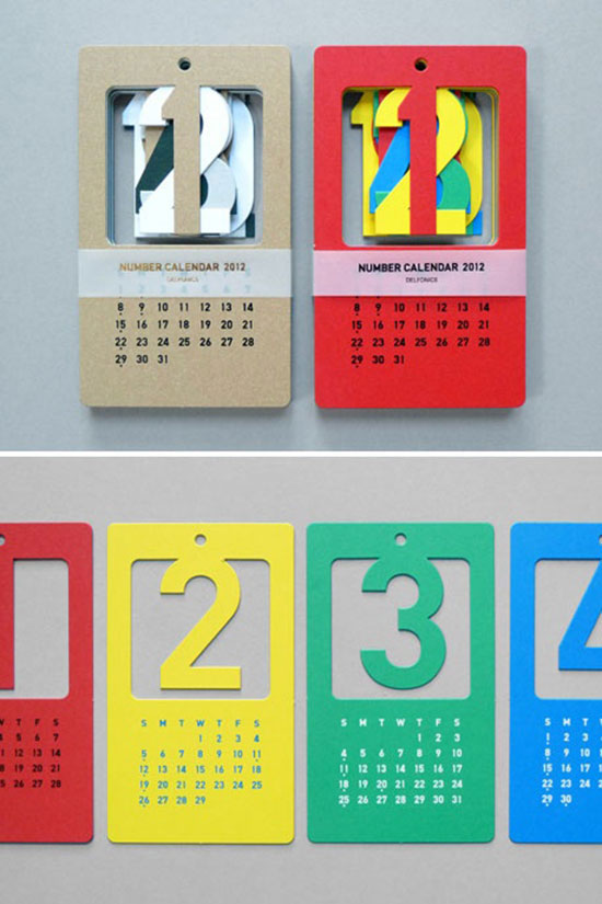 Calendar Inspiration Design : Calendar designs that will help you stay creative